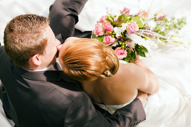 Ślub, czułość