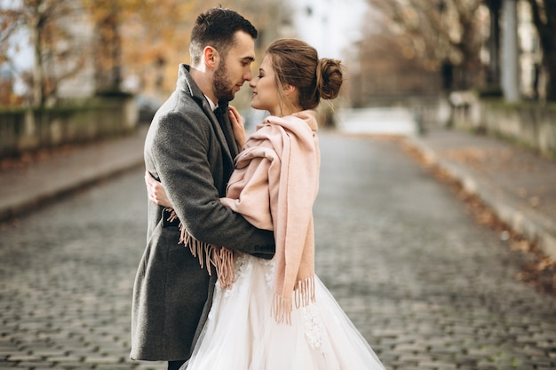 Ślub para we francji