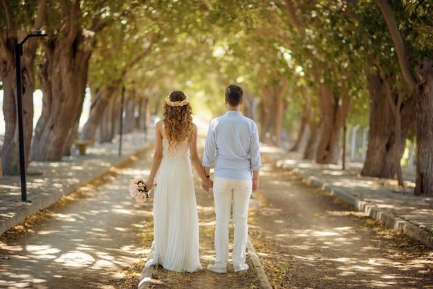 Ślub pary młodej i pana młodego