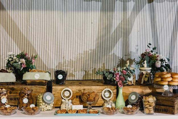 Ślub pustynie w batonika barze