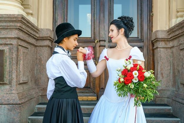 Ślub tej samej płci małżeństwa dwóch kobiet