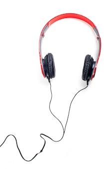 Słuchawki. na białym tle