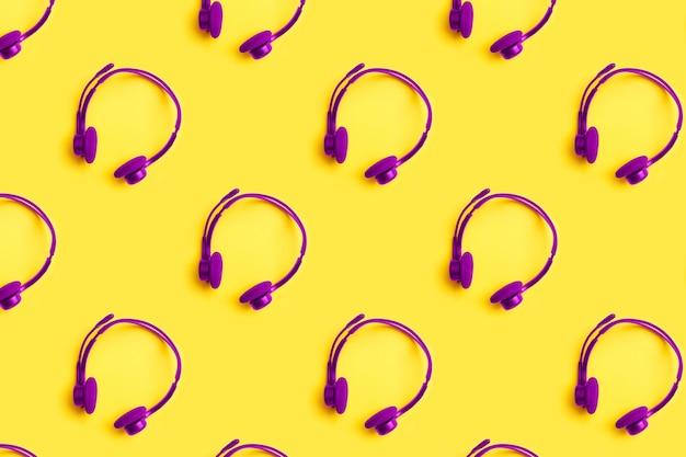 Słuchawki to jednolity wzór. do