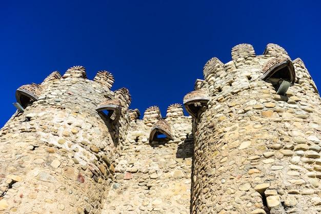Słynna katedra zamku ninotsminda