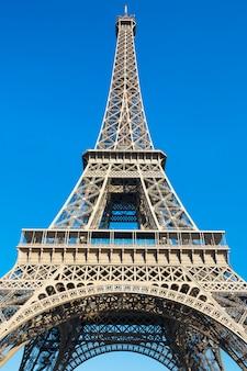 Słynna wieża eiffla - paryż