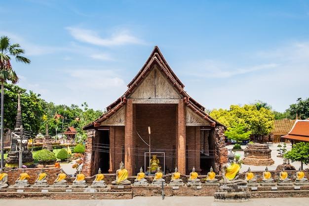 Słynne starożytne miejsce kultu świątyni