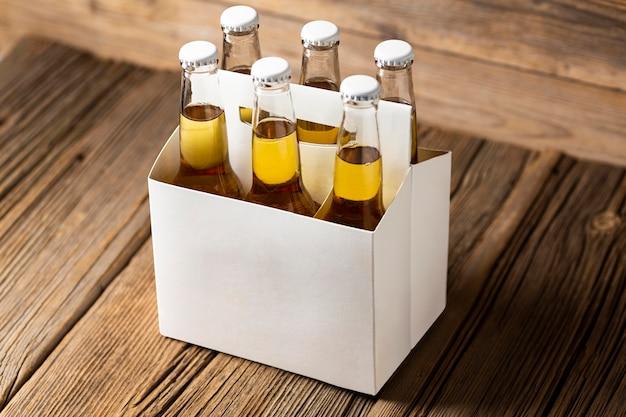 Smaczna amerykańska kompozycja piwa