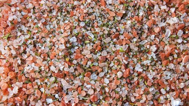 Smaczne białe różowe i zielone