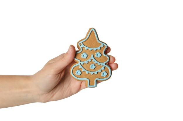 Smaczne domowe ciasteczko świąteczne