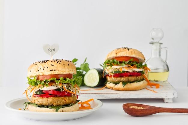 Smaczne hamburgery