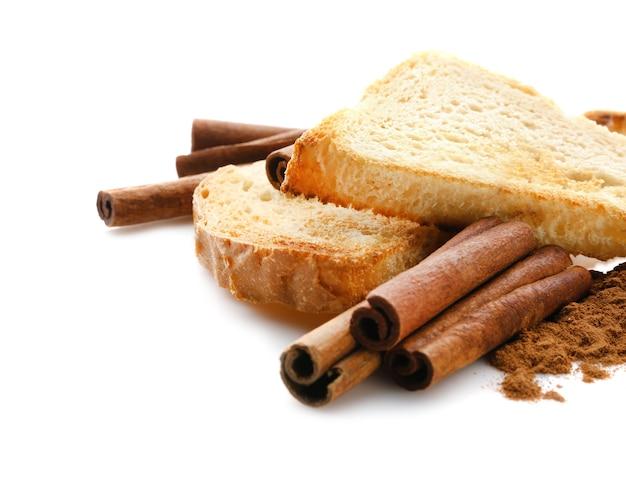 Smaczne tosty cynamonowe