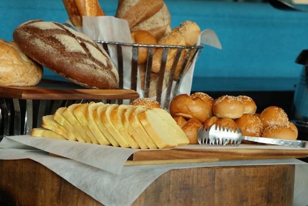 Smaczny chleb piekarnia