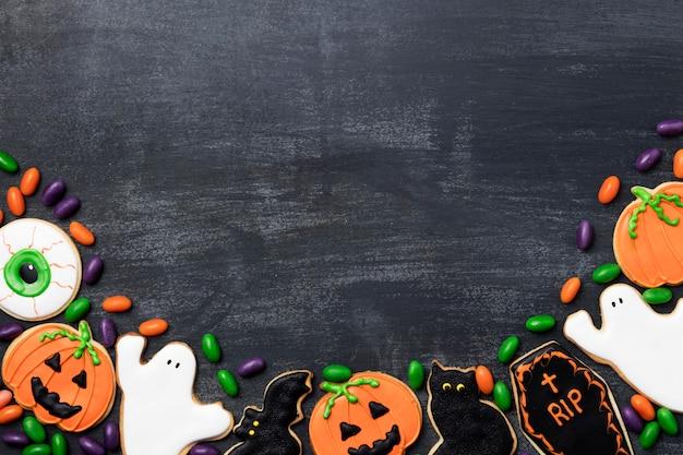Smakołyki na imprezę halloween z kopiowaniem miejsca