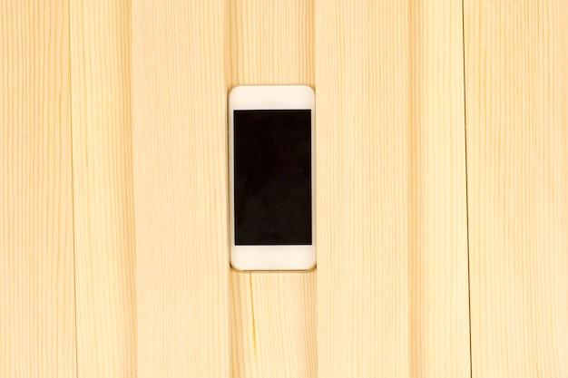 Smartfon między deskami