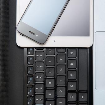 Smartfon, tablet i laptop