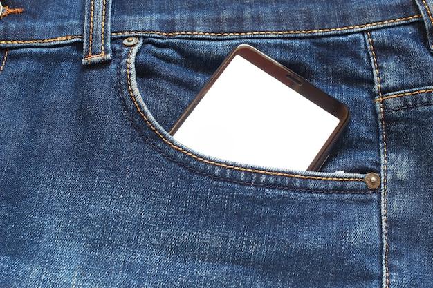Smartfon w kieszeni