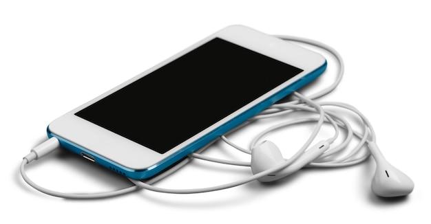 Smartfon ze słuchawkami