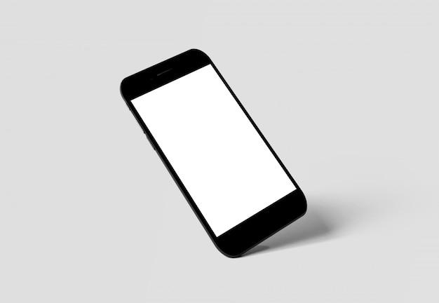 Smartfona odizolowane w cieniu