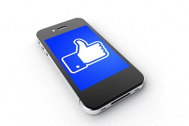 Smartphone na facebooku