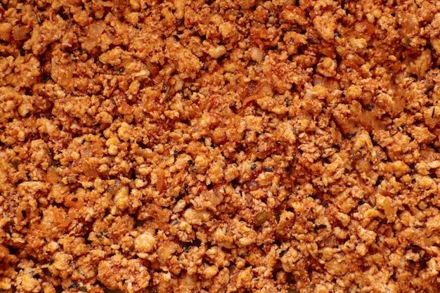 Smażone mięso mielone na lasagne