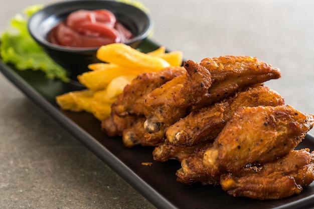 Smażone skrzydełka z kurczaka
