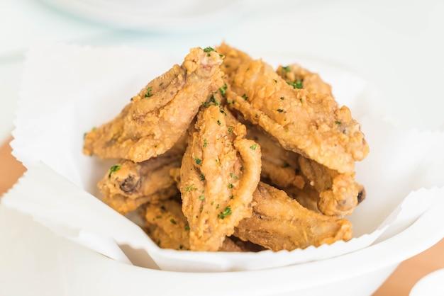 Smażone skrzydła kurczaka