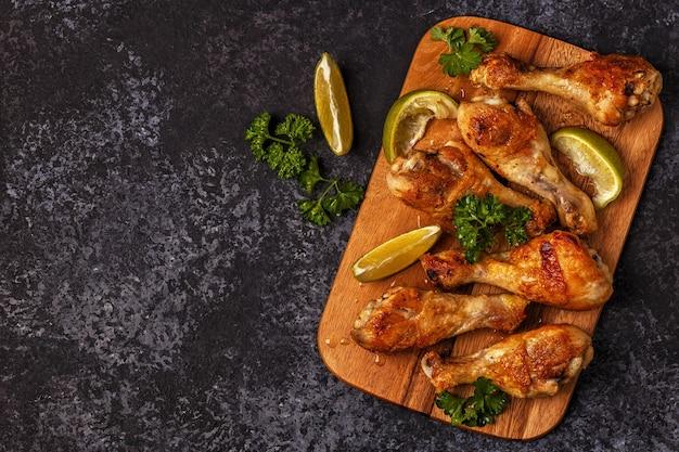 Smażone udka z kurczaka