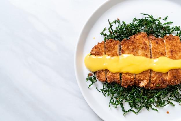 Smażony kurczak z sosem cytrynowo-limonkowym