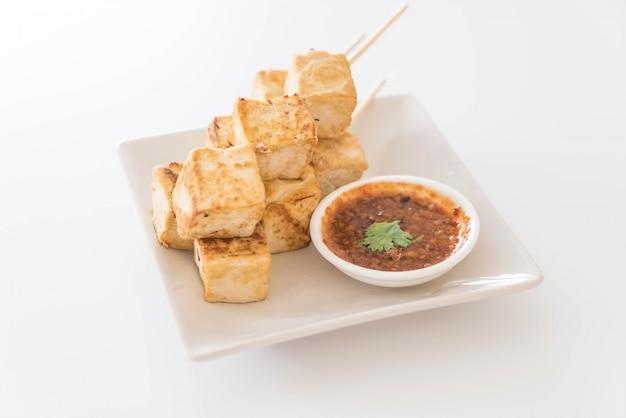 Smażony tofu - zdrowa żywność