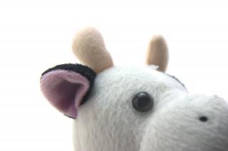 Śmieszne zabawki krowy