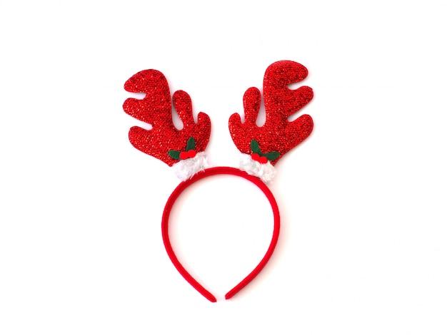 Śmieszny świąteczny pałąk z renifera