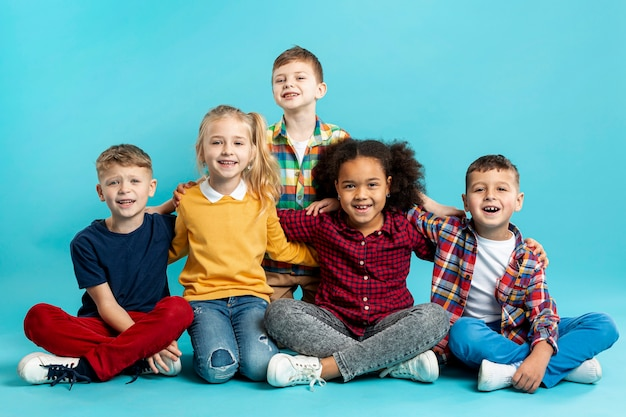 Smiley dla dzieci na dzień książki wydarzenie