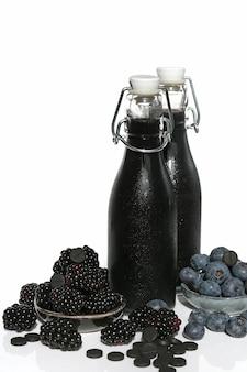 Smoothie czarnej jagody