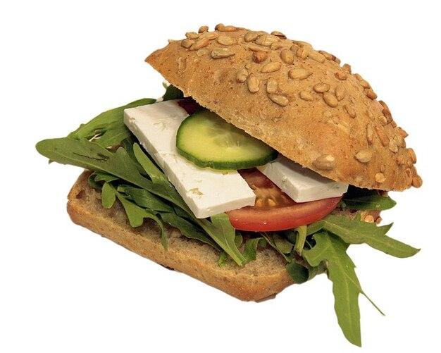 Snack food mistrz rzuca kanapkę świat wurstbrot