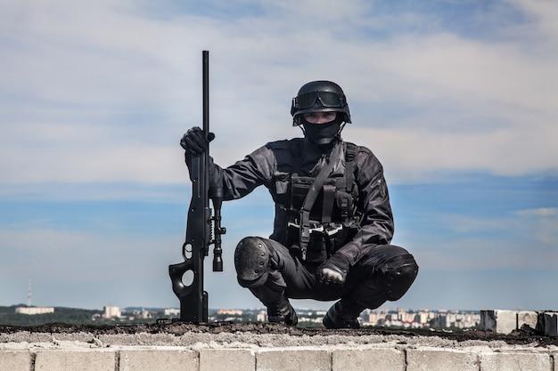 Snajper policji swat