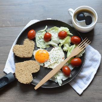 Śniadanie walentynkowe