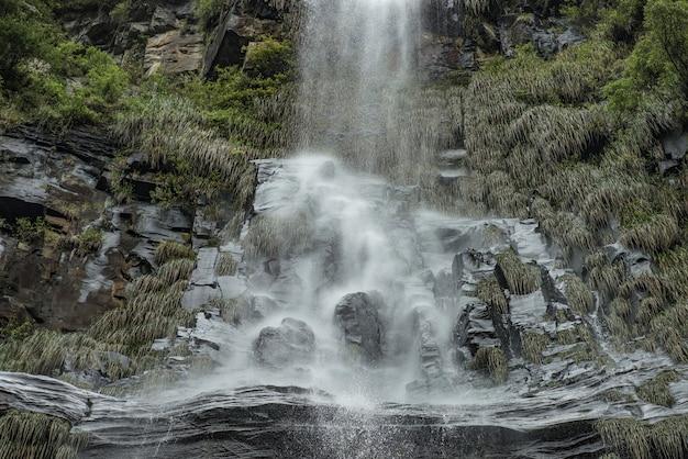 """snow cascade"" w mieście urubici, santa catarina, brazylia."