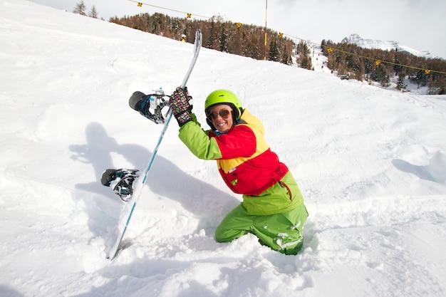 Snowboardzistka