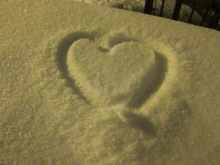 Snowy serca