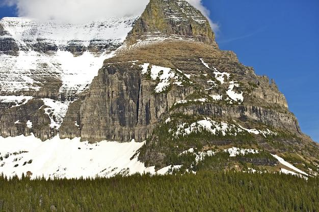 Snowy szczyt