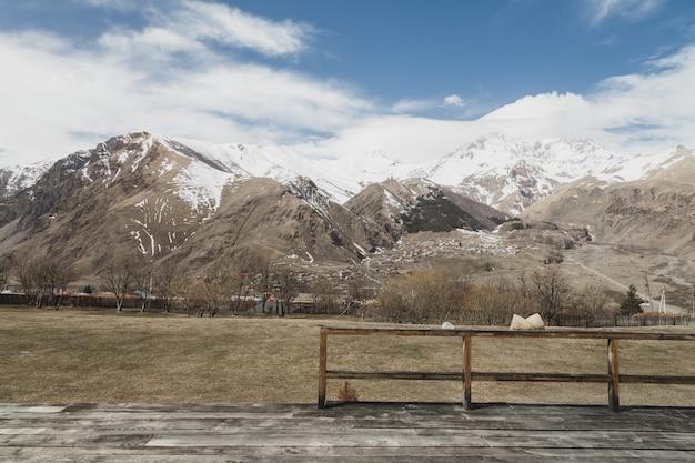 Snowy zimowe góry