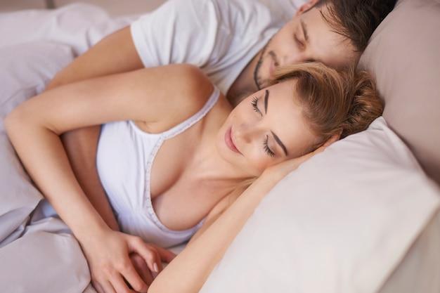 Sobotni poranek w ramionach mojej ukochanej