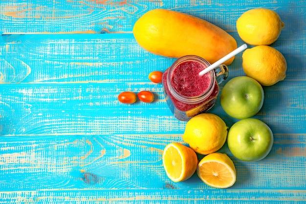 Sok owocowy i warzywny