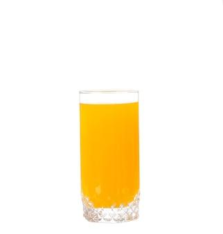 Sok pomarańczowy w szklance