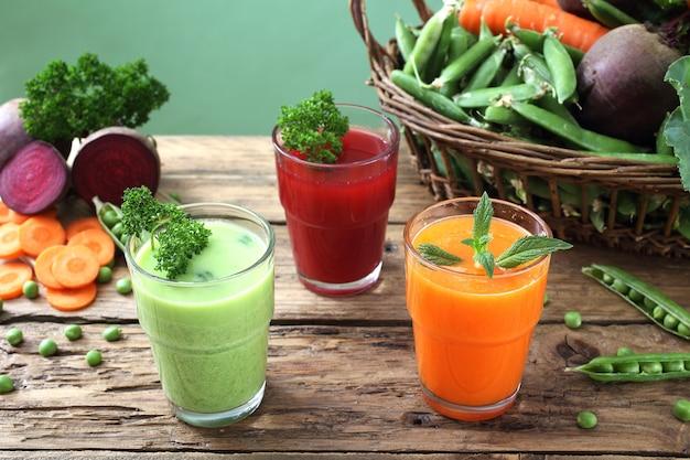 Sok ze świeżych warzyw