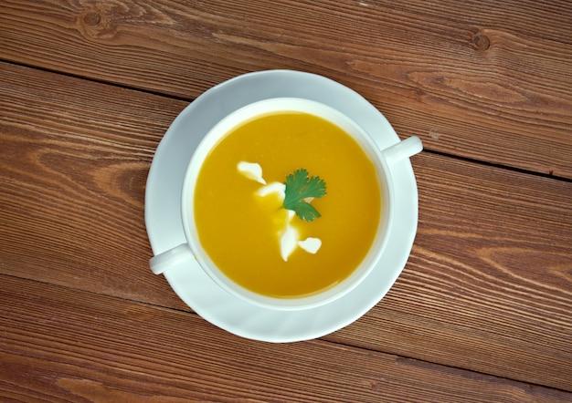 Sopa de calabaza - zupa z dyni piżmowej