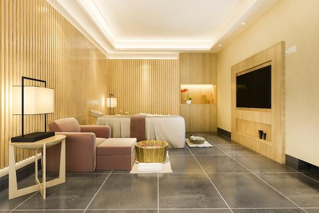Spa i masaże wellness w apartamencie hotelowym