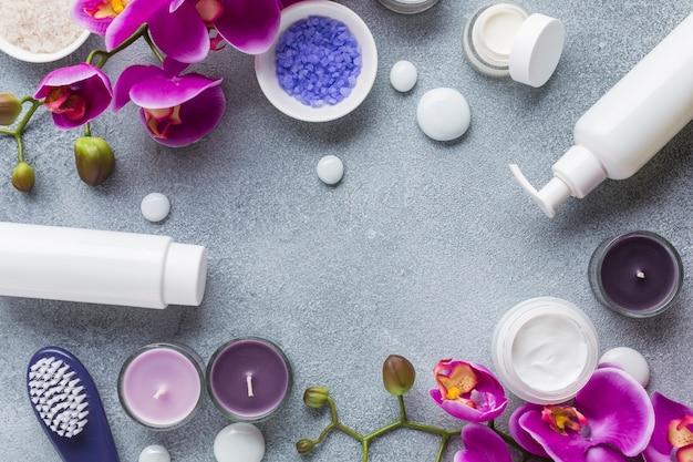 Spa Martwa Natura Z Kosmetykami Darmowe Zdjęcia