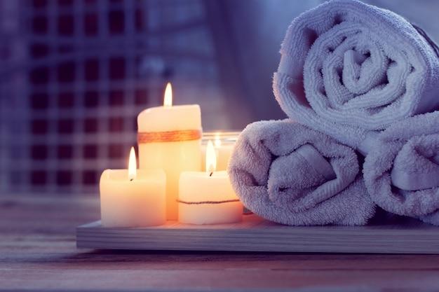 Spa ze świecami