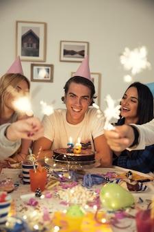 Sparklers na przyjęcie urodzinowe